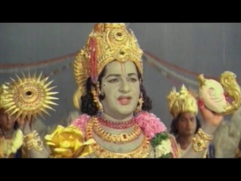Sree Vinayaka Vijayamu Movie || Lord Vinayaka Ganadipatya Pattabisekham || Krishnam Raju. Vanisree