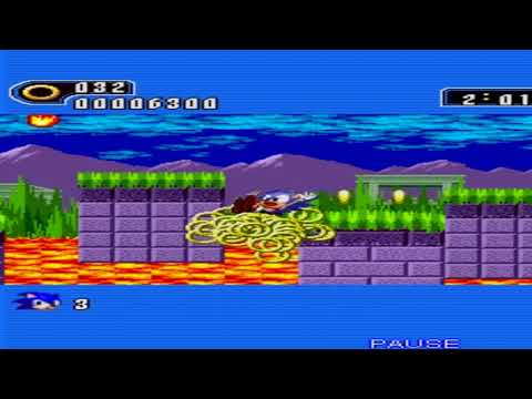 Java Mobile Games - Sonic The Hedgehog Java - All Levels - Gameplay