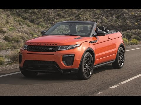 2016 Land Rover Evoque Convertible