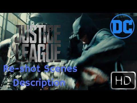 JUSTICE LEAGUE RESHOOT SCENE DESCRIPTION
