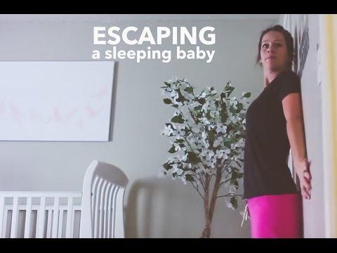 Kā nepamanītam aizlavīties no guloša bērna