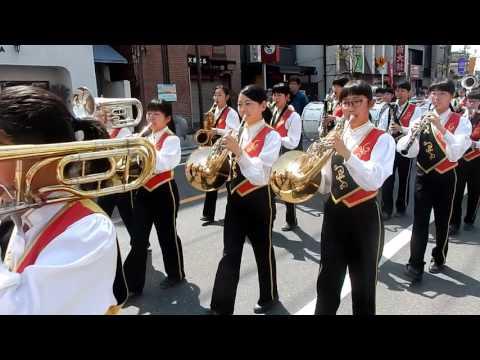 第18回さくらパレード 広島市立五日市中学校吹奏楽部(2)