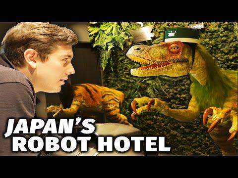 Inside Japan's Robot Hotel (видео)