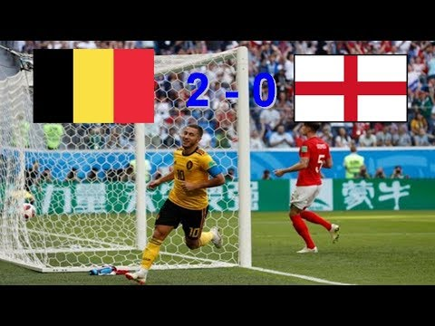 World Cup 2018 3th Place Match Belgium 2 - 0 England All Goals & Highlights  Russia 14.07.2018