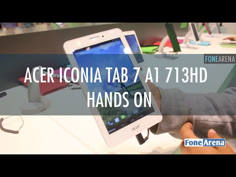 Acer Iconia Tab 7 A1 713HD Hands On