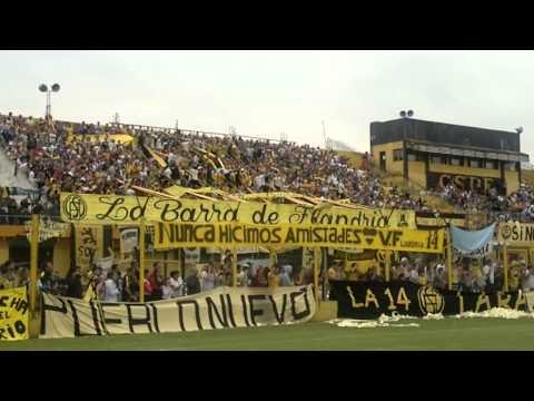 """Canticos de """"La 14"""" frente a Brown de Adrogue - La Barra de Flandria - Flandria"""