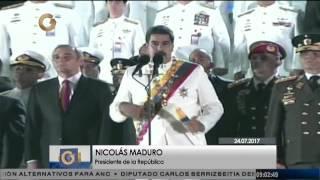 Acto con motivo al natalicio del Libertador Simón Bolívar y del 194 aniversario de la Armada Nacional Bolivariana.