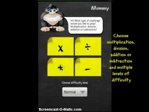 Video of Monkey Math Pro Demo