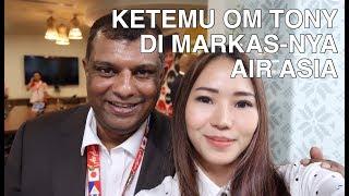 Video PART 01 - KETEMU OM TONY FERNANDES DI MARKAS-NYA AIR ASIA   FOODIRECTORY MP3, 3GP, MP4, WEBM, AVI, FLV Juni 2018