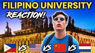 Video Foreigner Reacts to FILIPINO UNIVERSITY! University of Santo Tomas (UST)! MP3, 3GP, MP4, WEBM, AVI, FLV Agustus 2019