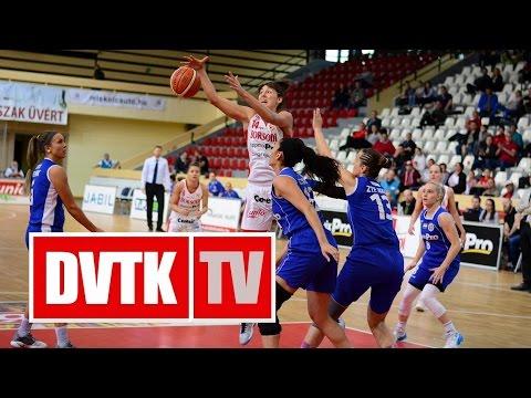 Női Kosárlabda NB I. A-csoport rájátszás az 5-8.helyért, 1. mérkőzés. Aluinvent DVTK - ZTE NKK