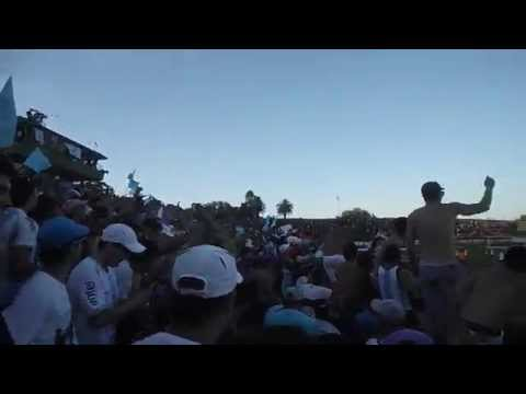 Rampla 1-2 CERRO, Festejos en la tribuna. 8/11/14 - Los Villeros - Cerro