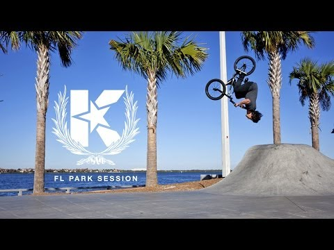 KINK BMX - Florida Skatepark session
