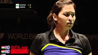 Download Video R32 (Day 2) - WD - J.Gutta/A.Ponnappa vs Cheng W.H./Chien Y.C. - Yonex BWF World Champs '11 MP3 3GP MP4