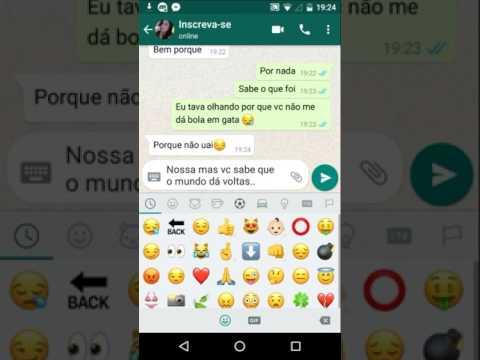 Status bonitos para Whatsapp - COMO CONQUISTAR UMA MENINA NO WhatsApp 2017