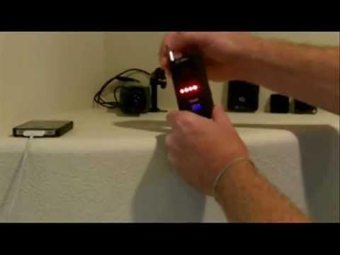 Hidden camera and bug detector