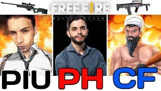 TOP 10 - MELHORES YOUTUBERS DE FREE FIRE BR