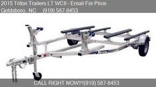 8. 2015 Triton Trailers LT WCII  for sale in Goldsboro, NC 2753