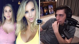 Best Of Twitch #56 Shroud On LivestreamFails  Bri And Katie BANNED  Boobles Donator Manipulated