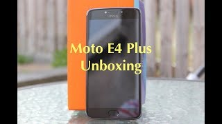 Unboxing and first look at the Moto E4 Plus, Moto's budget smartphone Follow us on Twitter @TechTring