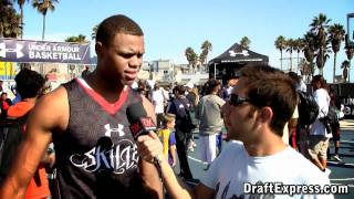 Justin Anderson DraftExpress Interview - 2011 Boost Mobile Elite 24