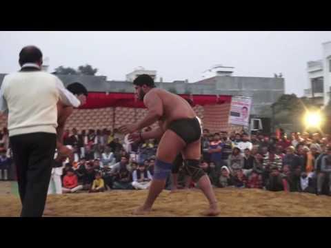Manish pahalwan Vs Harish from Mathura Ghitorni Dangal 2016