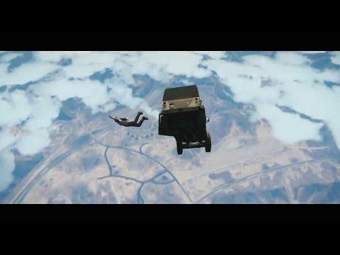 comment ouvrir parachute gta v