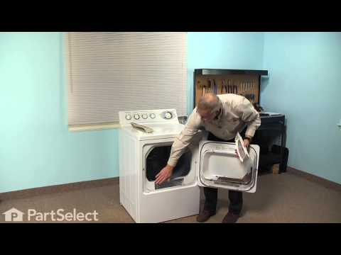 Dryer Repair – Replacing the Lint Filter (GE Part # WE18M28)