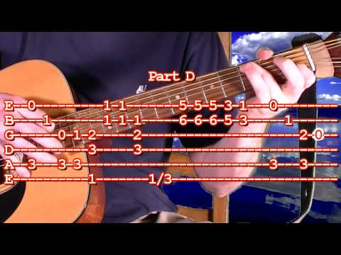 How To Play Super Mario Bros Guitar Tablature – Difficult Finger Picking Tab Lesson