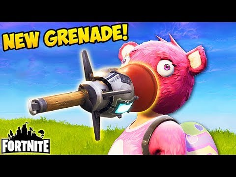 *NEW* CLINGER GRENADE BEST PLAYS! - Fortnite Funny Fails and WTF Moments! #175 (Daily Moments)