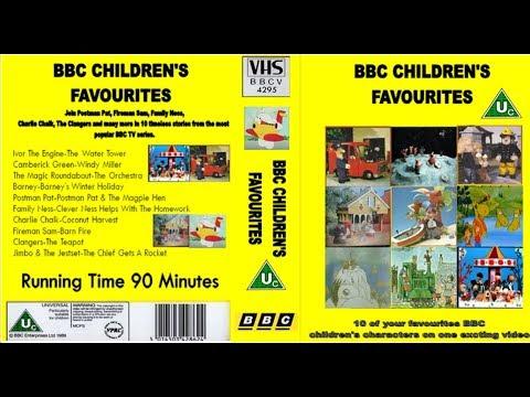BBC Children's Favourites VHS UK (1989)