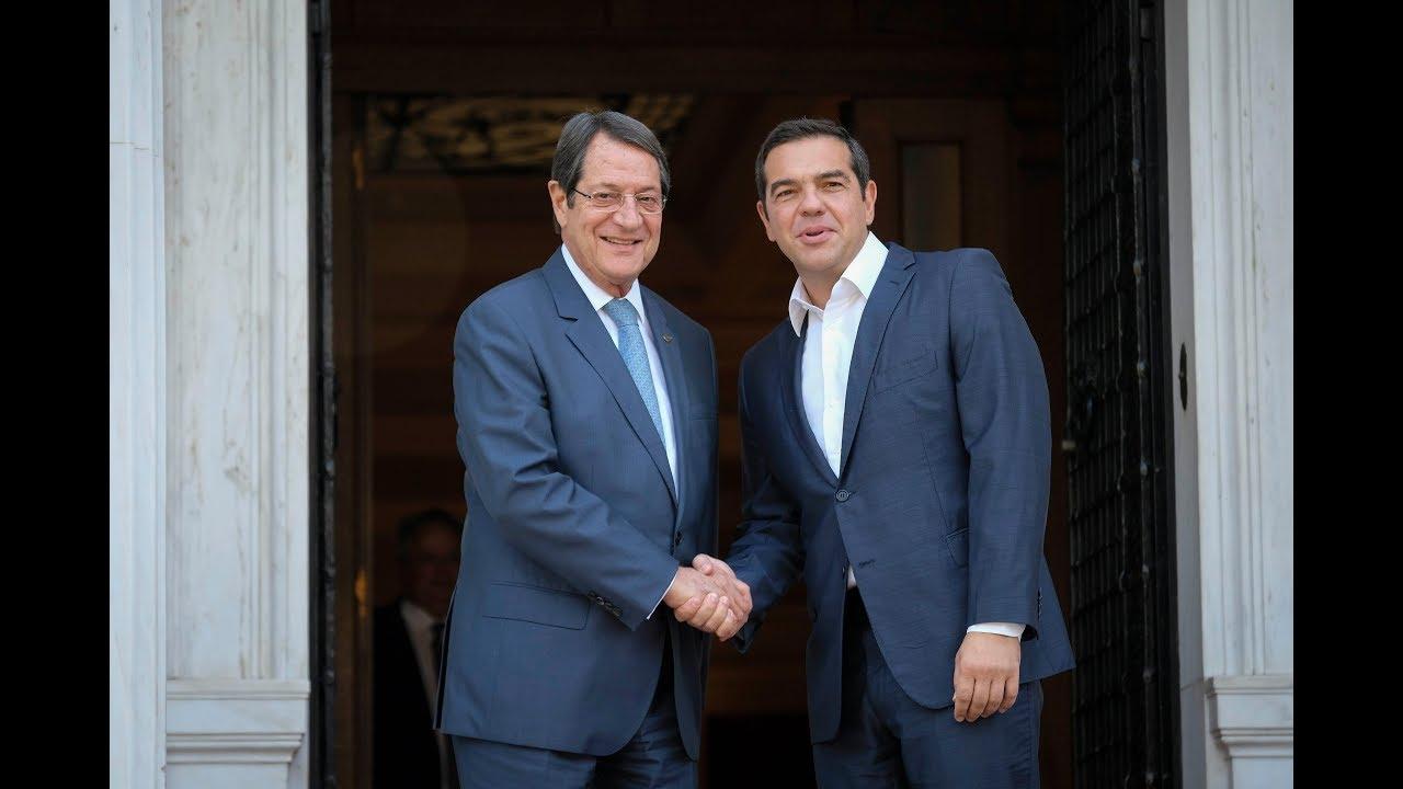 Συνάντηση εργασίας με τον Πρόεδρο της Κυπριακής Δημοκρατίας, κ. Νίκο Αναστασιάδη