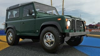 Forza Motorsport 7 - Land Rover Defender 90 1997 - Test Drive Gameplay (HD) [1080p60FPS]