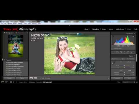 Lightroom 5 and Topaz Labs for Portraits