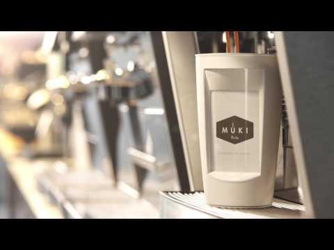 Pantalla de tinta electrónica en tu taza que usa café caliente como energía