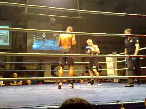 Michael Kongolo vs Pierre Clasen - EUROPEAN K1 TITLE part 2 of 4