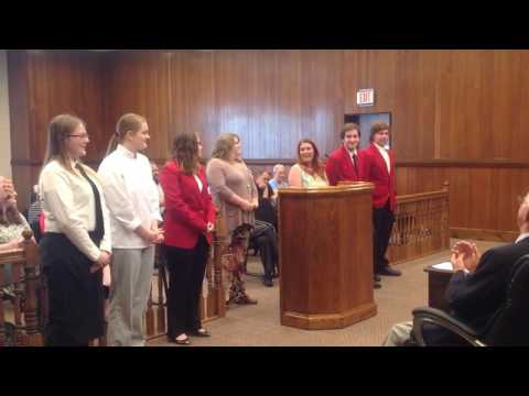 Video: Sullivan Commission honors culinary students for state win