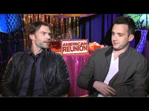 eddie kaye thomas - http://www.joblo.com - Seann William Scott & Eddie Kaye Thomas talk