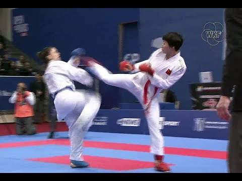 Spectacular Karate Action At The Karate 1-Premier League In Paris