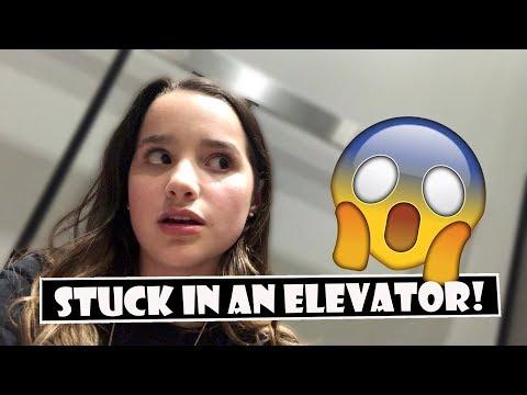 Stuck In An Elevator! 😱 (WK 380.5) | Bratayley (видео)