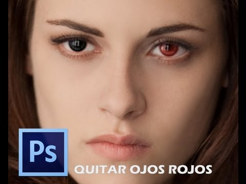 Video 6 de Photoshop CS6: Eliminar ojos rojos con Photoshop