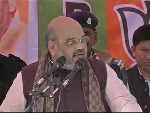 Shri Amit Shah addresses Public meeting at IRCON office Ground,Banihal(J&K) : 20.11.2014