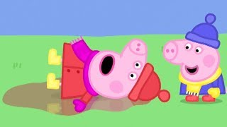 Video Peppa Pig English Episodes in 4K | Peppa's First Snow Day! Peppa Pig Official MP3, 3GP, MP4, WEBM, AVI, FLV Desember 2018