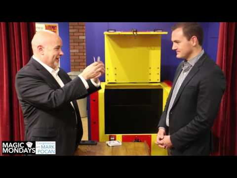 Magic Mondays: A card trick w/ Rep. Gallagher from the Houdini Museum