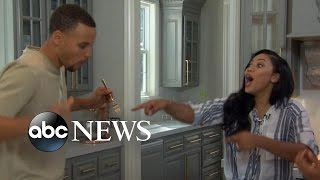 Video Ayesha and Stephen Curry on What Life Is Like at Home MP3, 3GP, MP4, WEBM, AVI, FLV Maret 2019