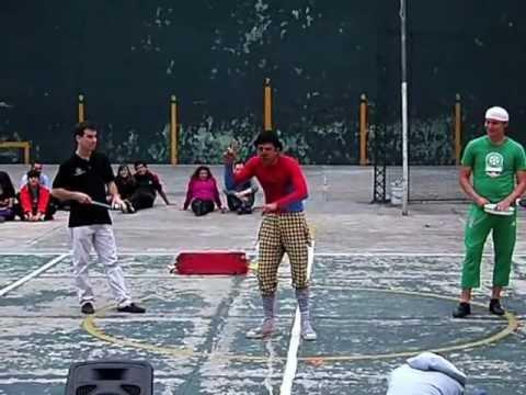 Payasos y Mimos en Coyoacan Parte 9: Carlos Miguel Sánchez