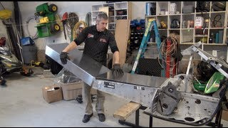 6. Episode #9, Tunnel extension part 1!  Skidoo 700 Rev Mod sled, PowerModz!