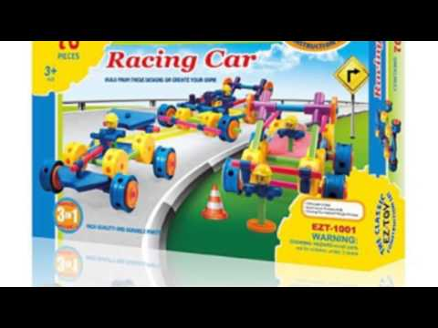 Video Product video released on YouTube for the Classic Tinkertoy Construction Set Replacement