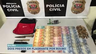 Polícia Civil de Bauru prende homens que roubaram farmácia