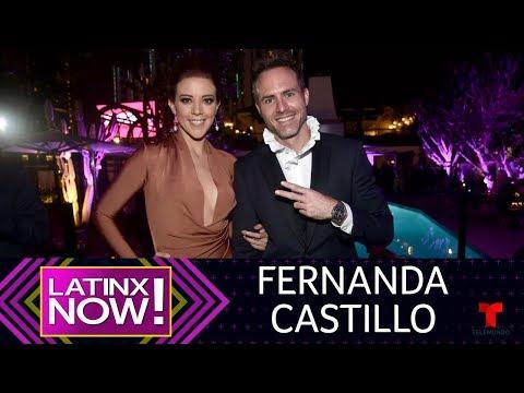 Historias de amor - La historia de amor de Fernanda Castillo y Erik  Hayser  Latinx Now!  Entretenimiento